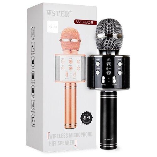 Караоке микрофон WSTER WS-858 черный