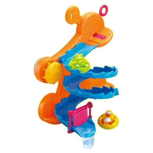 Купить Игрушка для ванной ABtoys Веселое купание. Горка (PT-00540) оранжевый, Игрушки для ванной