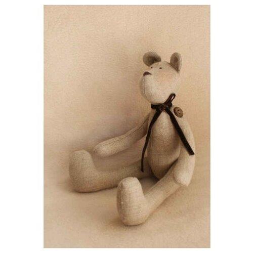 Купить Набор для изготовления текстильной игрушки Bear's Story , 29 см, арт. 017, Ваниль, Изготовление кукол и игрушек