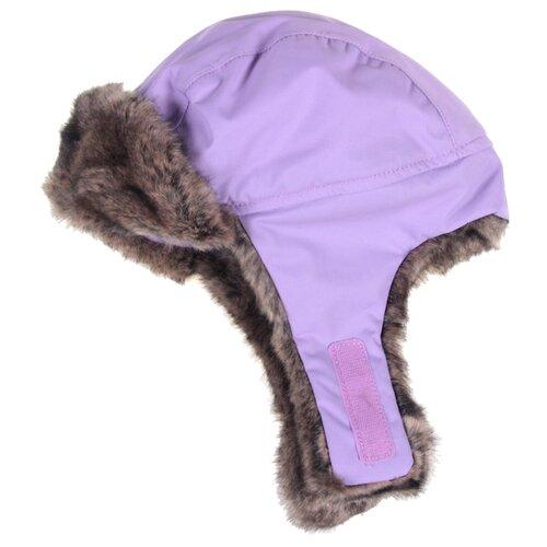 Купить Ушанка Reima размер 48, violet, Головные уборы