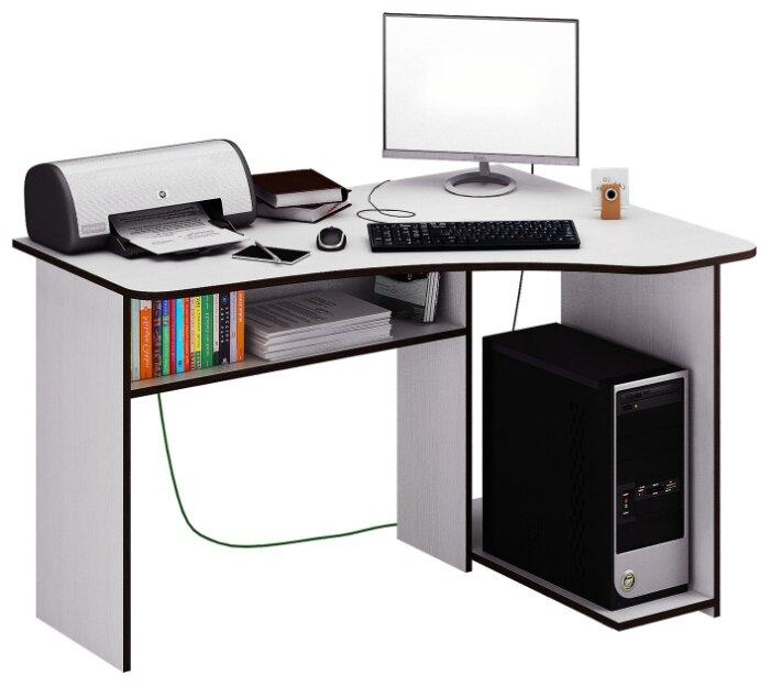 Компьютерный стол угловой МФ Мастер Триан-1