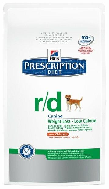 Корм для собак Hill's Prescription Diet при избыточном весе, курица