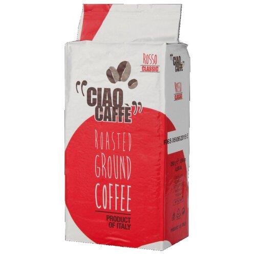 Кофе молотый De Roccis Ciao Caffe Rosso Classic, 250 г ciao caffe oro premium кофе молотый 250 г