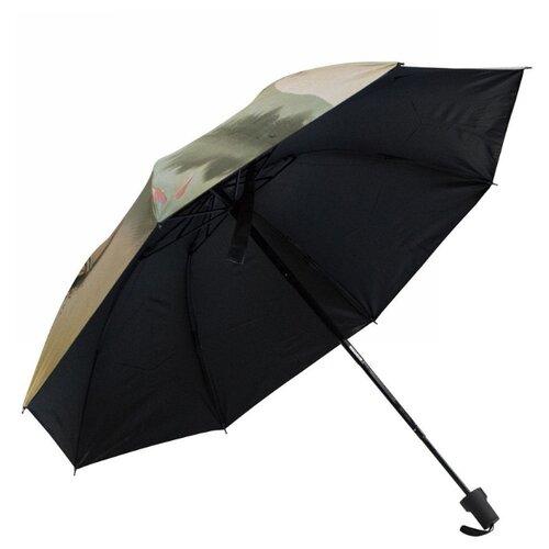 Зонт механика Удачная покупка YS05 серый/бежевый зонт механика удачная покупка ys01 черный желтый