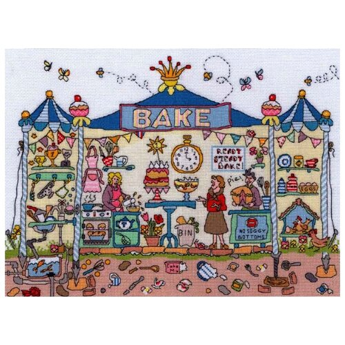 Купить Набор для вышивания Bakery (Пекарня), Bothy Threads, Наборы для вышивания