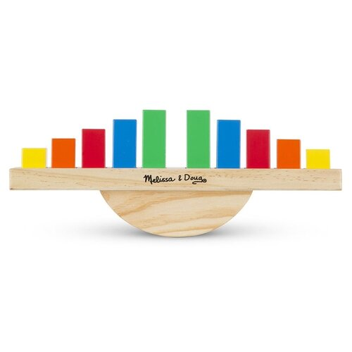 Развивающая игрушка Melissa & Doug Радуга Баланс мультиколор развивающая игрушка findustoys радуга