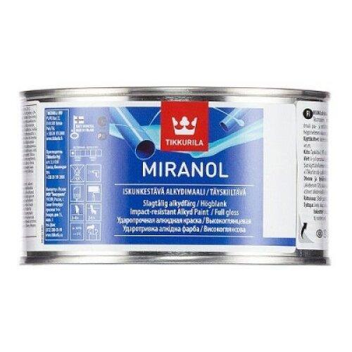 Эмаль алкидная (А) Tikkurila Miranol база C прозрачный 0.23 л