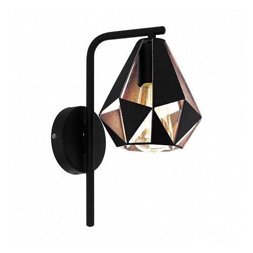 Фото - Настенный светильник Eglo Carlton 4 43057, 60 Вт торшер eglo carlton 1 49994 60 вт