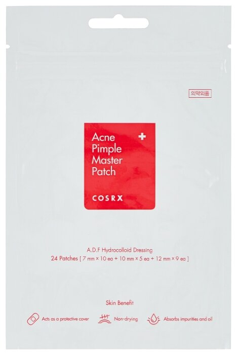 COSRX Патчи от прыщей Acne Pimple Master Patch,