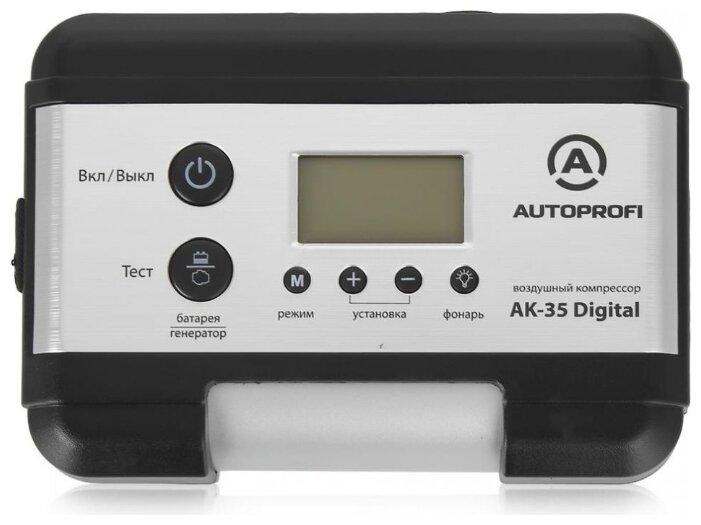 Автомобильный компрессор AUTOPROFI AK-35 Digital