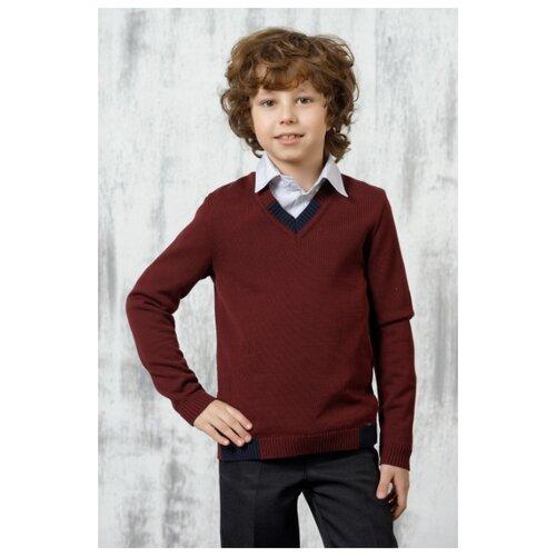 Пуловер VAY размер 146, бордовый
