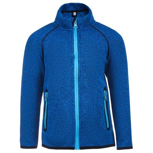 Купить Олимпийка Oldos размер 98, синий меланж, Толстовки