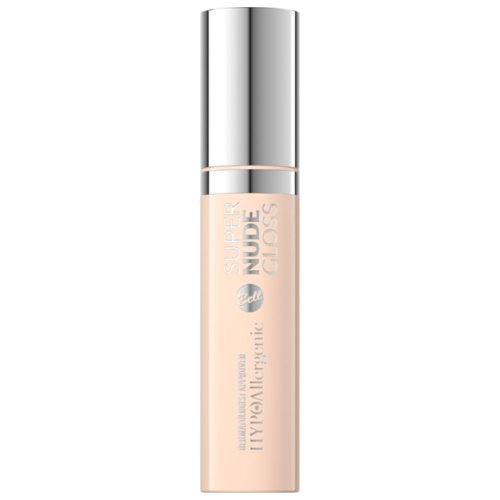 Bell Блеск для губ Hypoallergenic Super Nude Gloss, 01