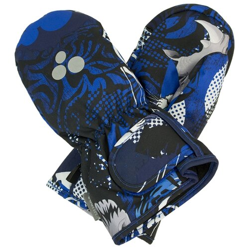 Варежки Huppa размер 3, 82886 navy pattern варежки детские huppa liina цвет синий 8104base 60035 размер 5