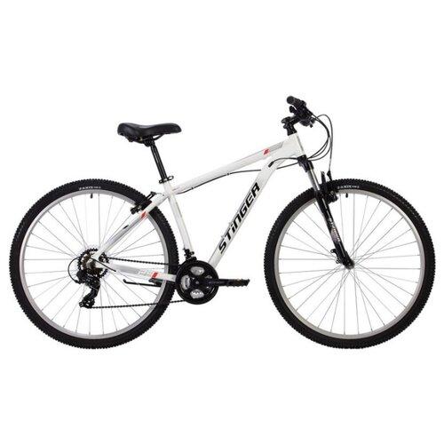 Горный (MTB) велосипед Stinger Element STD 29 (2020) белый 20 (требует финальной сборки) велосипед stinger 26 banzai 20 синий 26 sfv banzai 20 bl7