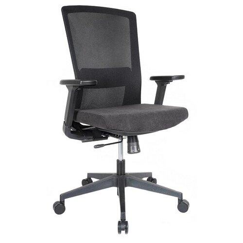 Компьютерное кресло College CLG-426 MBN-B офисное, обивка: текстиль, цвет: черный компьютерное кресло college clg 619 mxh b офисное обивка текстиль цвет бежевый