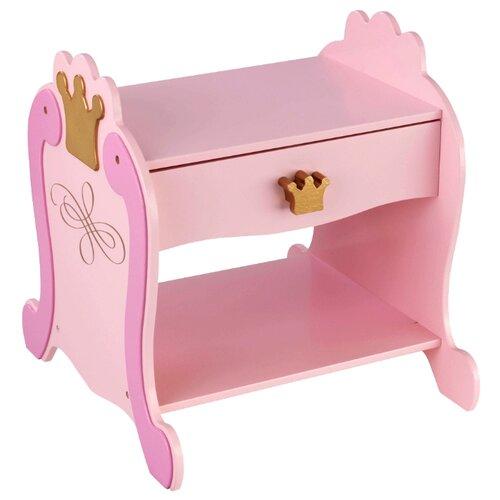 Стол KidKraft Принцесса (76124_KE) 41x39 см розовый/золотистый игровой стол kidkraft малыш 17508 ke