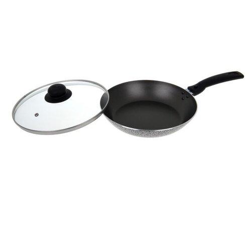 Сковорода VARI Scandia С13226/11 26 см с крышкой, съемная ручка, антрацит