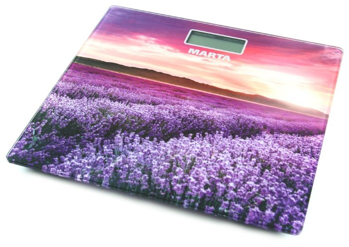 Весы электронные MARTA MT-1681 Цветущая лаванда