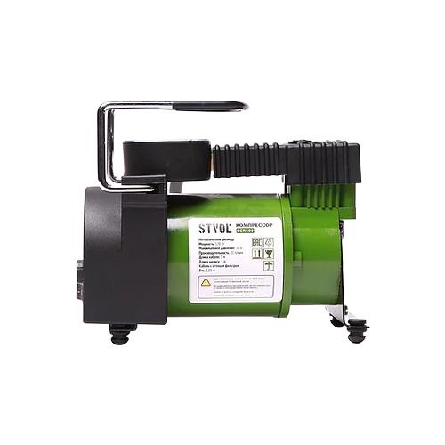 Автомобильный компрессор STVOL SCR580 зеленый/черный