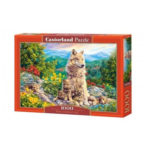 Купить Пазл Castorland Потомство (C-104420), 1000 дет., Пазлы