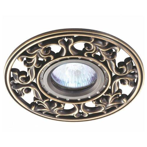 Встраиваемый светильник Novotech Vintage 369988 встраиваемый светильник novotech vintage 369943