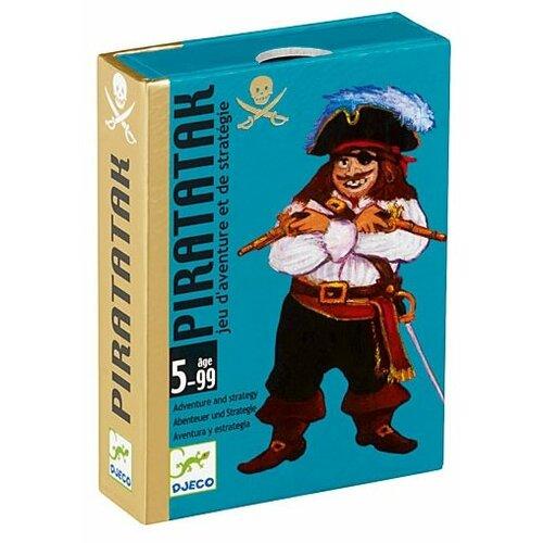 Настольная игра DJECO Карточная игра Пират настольная игра анимо djeco настольная игра анимо