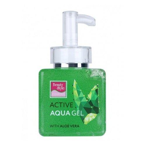 Beauty Style Professional Product Гель активный Аква-гель Алоэ-вера для проведения аппаратных процедур на лице, 250 мл гель активный 300 мл beautystyle