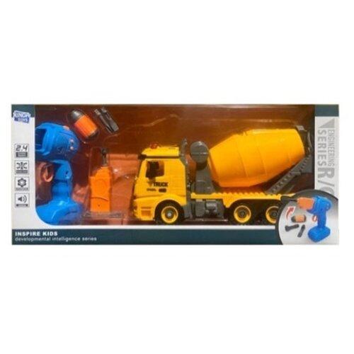 Купить Винтовой конструктор Xinda Toys Engineering R/C BS-R2 Бетономешалка, Конструкторы
