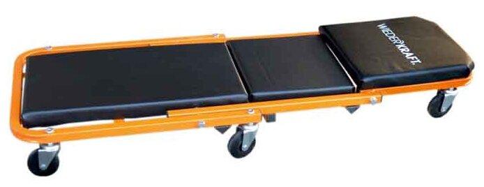 Лежак ремонтный (на колесах, закатываться под днище) WIEDERKRAFT WDK-65386