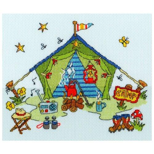 Купить Набор для вышивания Tent (Палатка), Bothy Threads, Наборы для вышивания