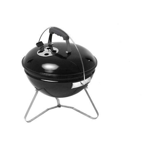 Угольный гриль Go Garden Premium 38, 38x38x44 см, черный