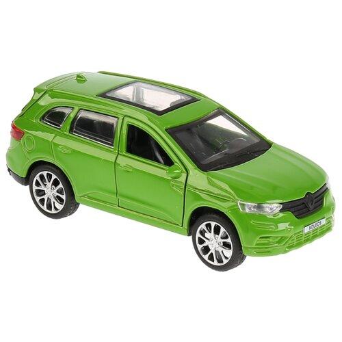 Внедорожник ТЕХНОПАРК Renault Koleos (KOLEOS-BU/GN/SL/BK) 12 см зеленый внедорожник технопарк renault koleos koleos bu gn sl bk 12 см черный