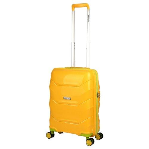 цена на Чемодан BAUDET BHL0714814 S 36.7 л, желтый