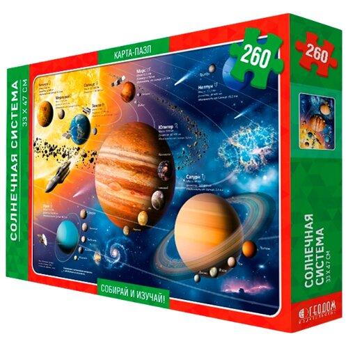 Купить Пазл ГеоДом Солнечная система (4607177452210), 260 дет., Пазлы