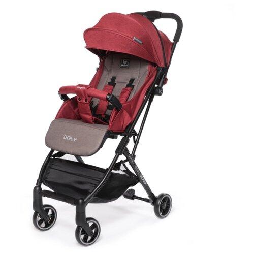 Прогулочная коляска Baby Care Daily красный коляска baby care incity blue