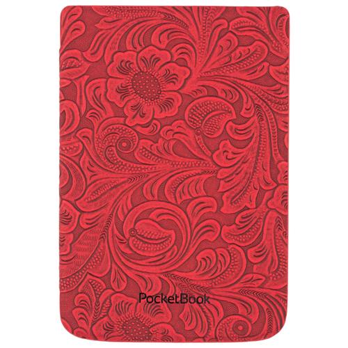 Обложка PocketBook 606, 616, 627, 632 Original Shell Classic Красный с узорами