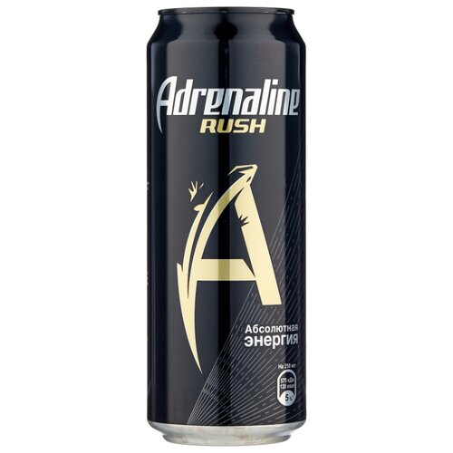 Энергетический напиток Adrenaline Rush, 0.449 л
