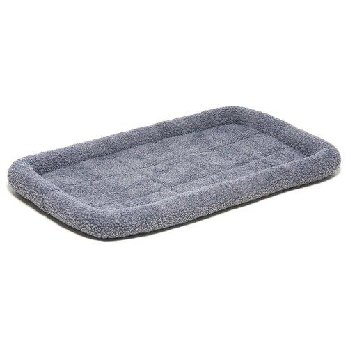 Лежак для собак ZooOne 6103 75х46х7.5 см серый