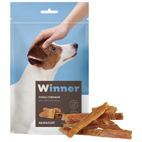 Лакомство для собак Winner Рубец говяжий, 60 гЛакомства для собак<br>