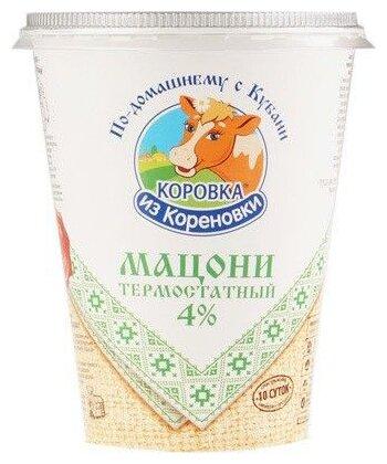 Коровка из Кореновки Мацони 4% 350 г