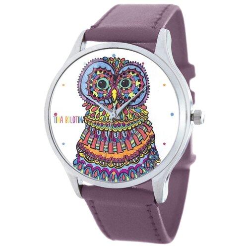 Наручные часы TINA BOLOTINA Совушка Extra (EX-117) будильник tina bolotina лондон awo 009
