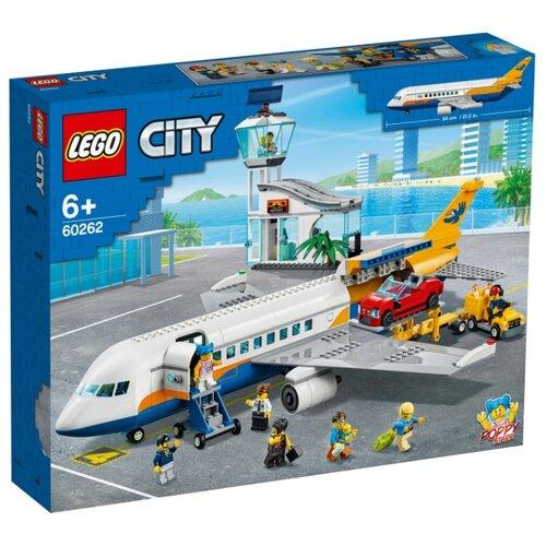 Купить Конструктор LEGO City 60262 Пассажирский самолёт, Конструкторы