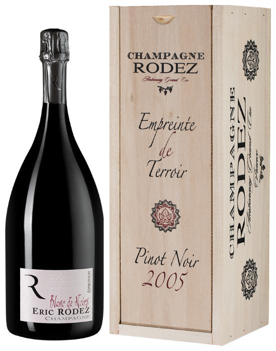 Шампанское Eric Rodez Blanc de Noirs Brut Ambonnay Grand Cru, 1.5л