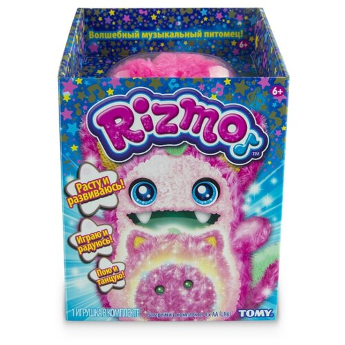 Купить Мягкая игрушка Tomy Rizmo berry, Роботы и трансформеры