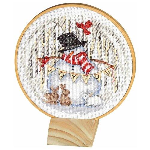 Купить Dimensions Набор для вышивания 8979-DMS Радостный снежок, Наборы для вышивания