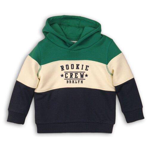 Худи Minoti размер 6-7л, зеленый/белый/синий брюки minoti размер 6 7л темно зеленый