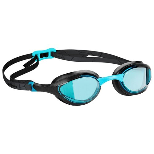 Очки для плавания MAD WAVE Alien azure/black очки для плавания mad wave triathlon azure clear black