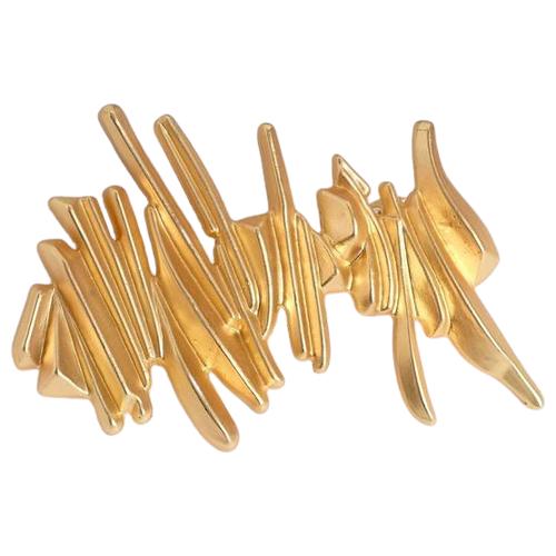 Заколка-автомат Queen fair Грандэ люкс (5065357) золотой