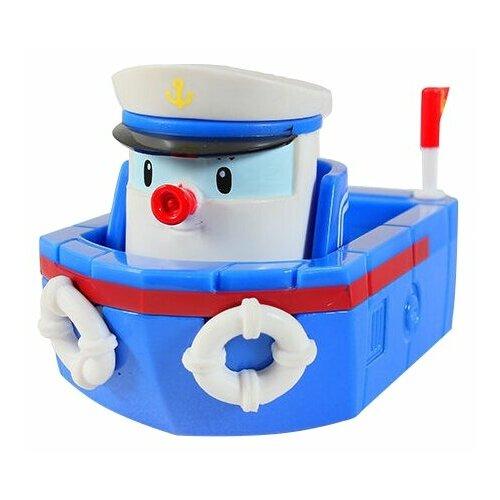 Купить Катер Silverlit Робокар Поли Мэрин (83258) 6 см синий/белый, Машинки и техника